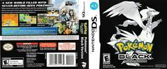Artwork - Back, Front | Pokemon Black Nintendo DS