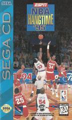 ESPN NBA Hang Time 95 - Front / Manual   ESPN NBA Hang Time 95 Sega CD