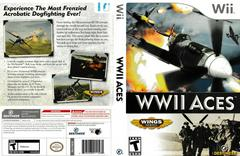 Artwork - Back, Front | WWII Aces Wii
