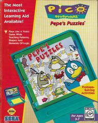 Pepe's Puzzles Sega Pico Prices