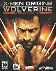 Manual - Front   X-Men Origins: Wolverine Playstation 3