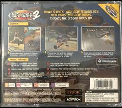 Case Back | Tony Hawk 2 Playstation