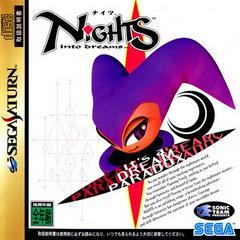 Front Cover   Nights into Dreams JP Sega Saturn