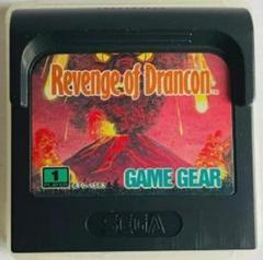 Cartridge  | Revenge of Drancon Sega Game Gear