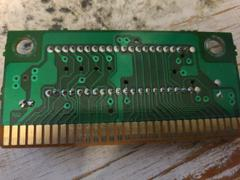 Circuit Board (Reverse) | Sunset Riders Sega Genesis
