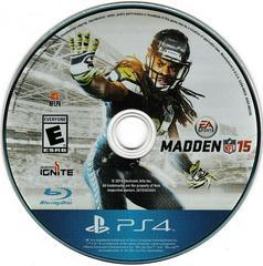 Game Disc   Madden NFL 15 Playstation 4