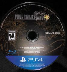 Disc   Final Fantasy Type-0 HD Playstation 4