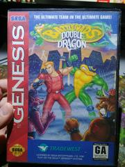 Front Cover | Battletoads and Double Dragon The Ultimate Team Sega Genesis