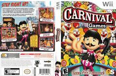 Artwork - Back, Front   Carnival Games Wii