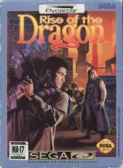 Rise Of The Dragon - Front | Rise of the Dragon Sega CD