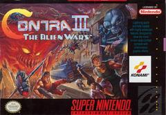 Contra III The Alien Wars - Front   Contra III The Alien Wars Super Nintendo