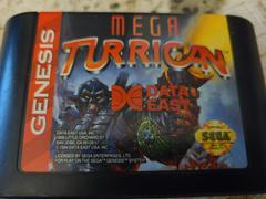 Cartridge (Front) | Mega Turrican Sega Genesis