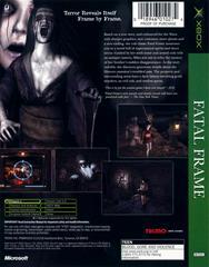 Back Cover   Fatal Frame Xbox