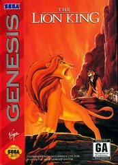 Front Cover | The Lion King Sega Genesis