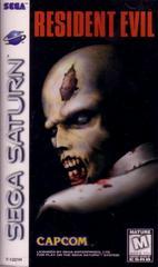 Front Cover   Resident Evil Sega Saturn
