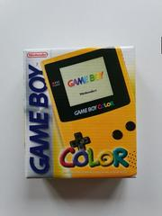 Box Art   Game Boy Color Yellow GameBoy Color