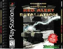 Front Of Case   Command and Conquer Red Alert Retaliation Playstation
