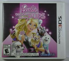 Front Of Case | Barbie: Groom and Glam Pups Nintendo 3DS