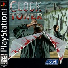Front Cover   Clock Tower Playstation