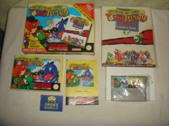 Box Contents   Super Mario World 2 Yoshi's Island [Big Box] PAL Super Nintendo