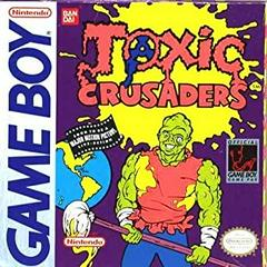 Toxic Crusaders GameBoy Prices