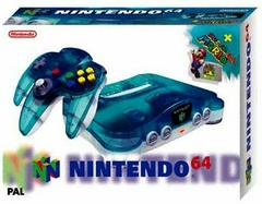 Nintendo 64 Clear Blue System PAL Nintendo 64 Prices