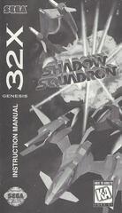 Shadow Squadron - Manual | Shadow Squadron Sega 32X