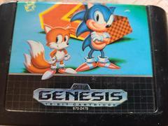Cartridge (Front) | Sonic the Hedgehog 2 Sega Genesis