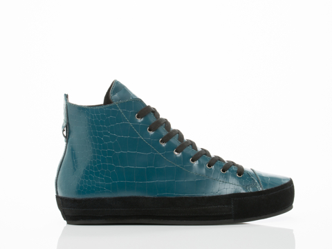 1 900 In Green Croco Henry Mens