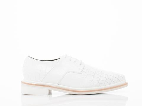 1 900 In White Croco Monzo Mens