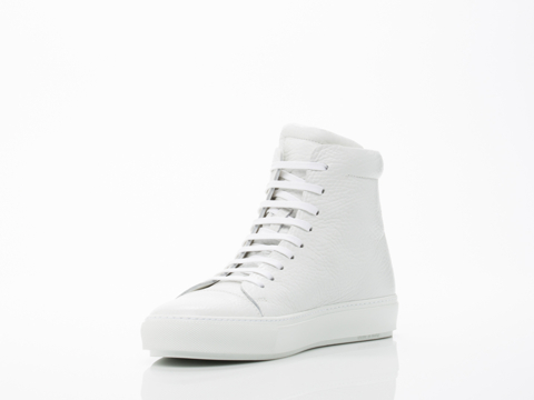 Acne Studios In White Pebble Adrian High Mens