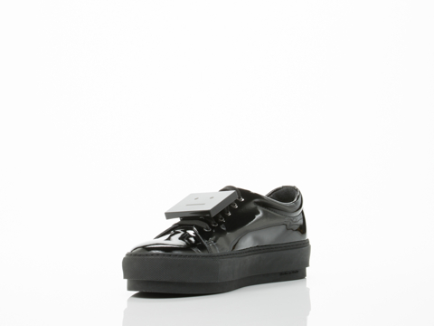 Acne Studios In Black Patent Adriana