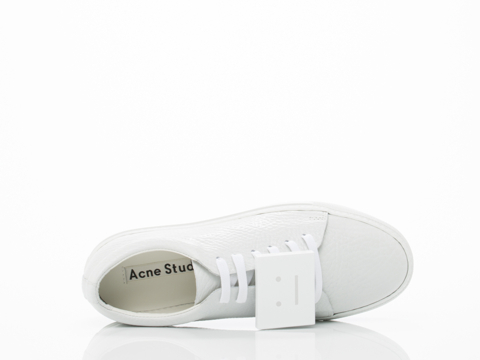 Acne Studios In White Adriana Grain