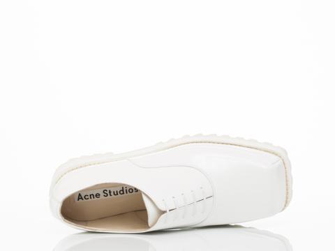 Acne Studios In White Quad