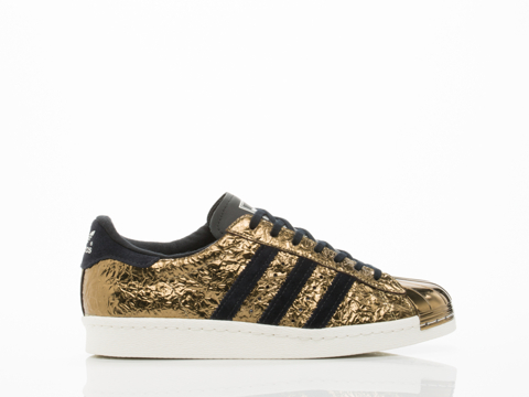 Superstar Adidas Black And Gold