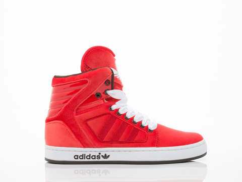 Adidas Originals In Red Red White Adi High Ext