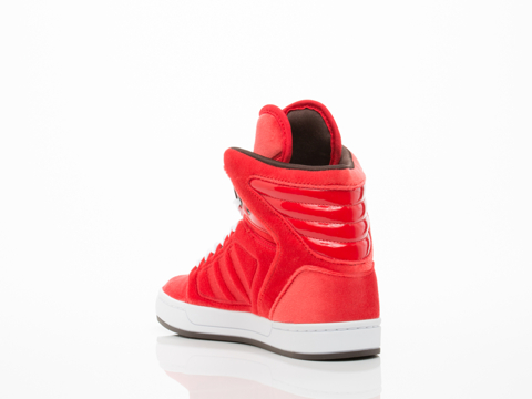 Adidas Originals In Red Red White Adi High Ext Womens
