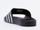 Adidas Originals In Black White Black Adilette Mens