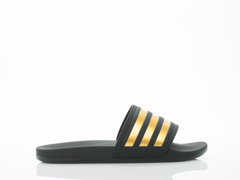 Adidas Originals In Black Gold Black Adilette SC Plus Gold Mens