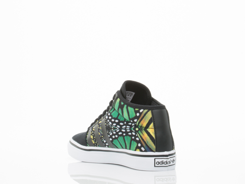 Adidas Originals In Butterfly Print Adria Mid