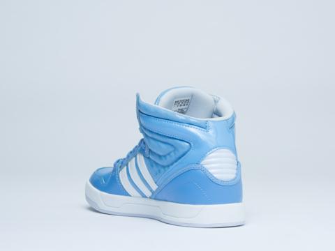 Adidas Originals In Bahia Light Blue Court Attitude