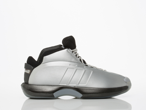 Adidas Originals In Silver Metallic Black Onix Crazy 1 Mens