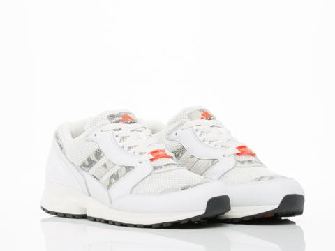 Adidas Originals In White Equipment Running Cusion