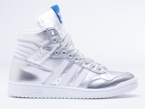 Adidas Originals Silver Shoes