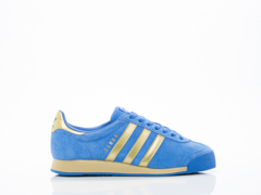 Adidas Originals In Blue Gold Samoa Vintage Womens