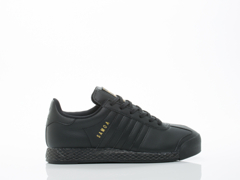Adidas Originals In Black Black Gold Samoa Womens
