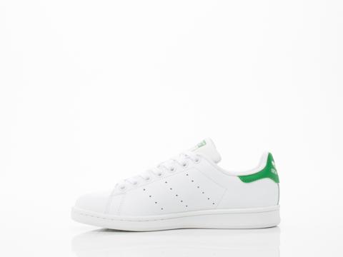Adidas Originals In White White Green Stan Smith Womens