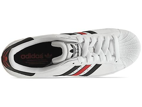 Adidas Superstar 2 Black And Red