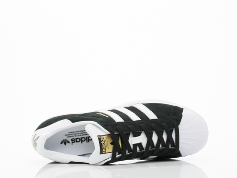 Adidas Originals In Black White Gold Superstar East River Rival Mens