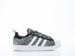 Adidas Originals In Black White White Superstar Glow In The Dark Womens